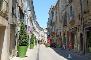 Streets of Pezenas, Languedoc Roussillon