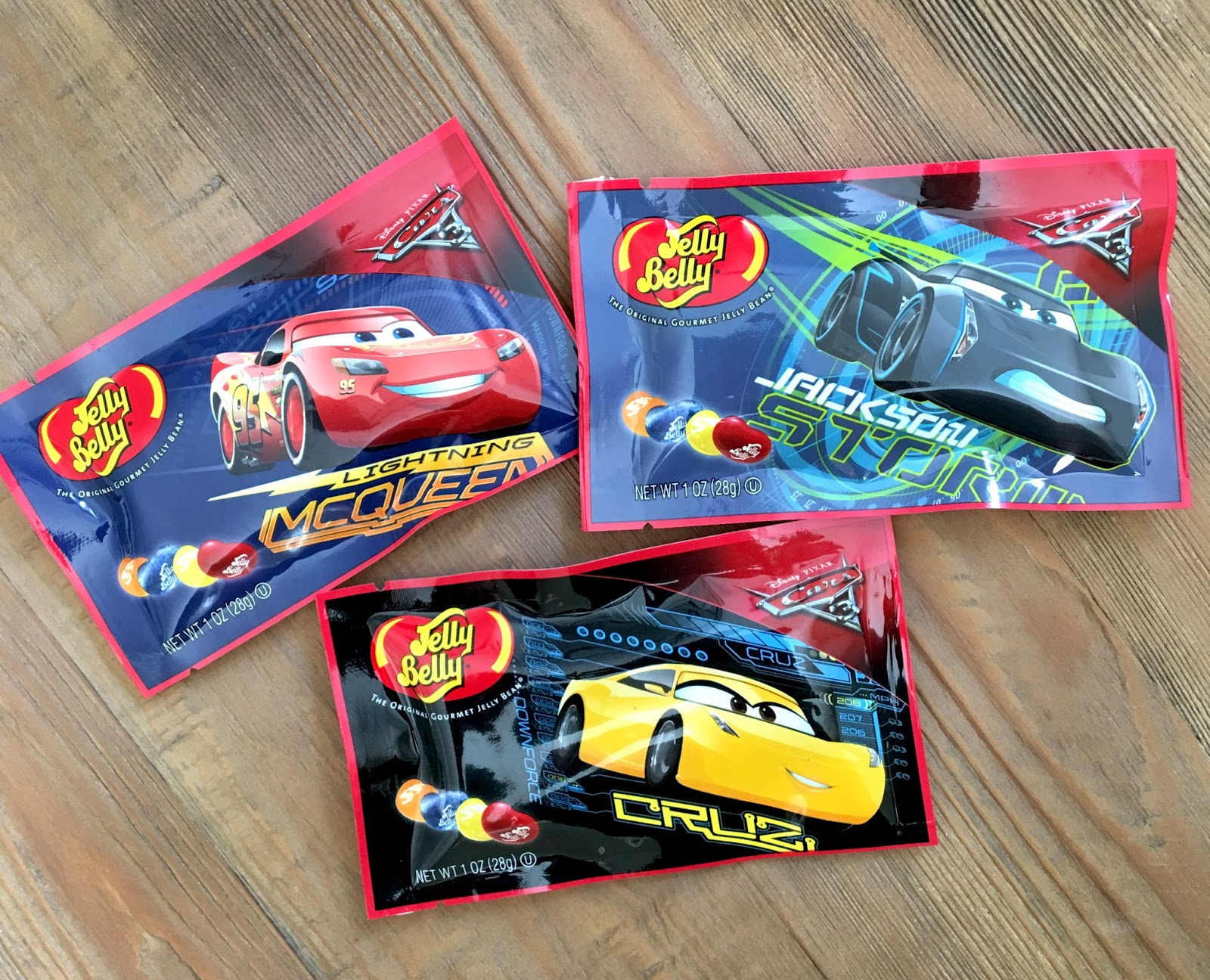 disney pixar cars 3 jelly beans