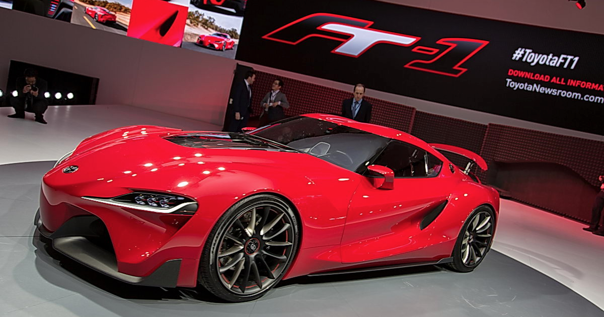 Toyota Ft 1 >> Hoselton Auto Mall: The Toyota FT-1: New Concept Sports Car