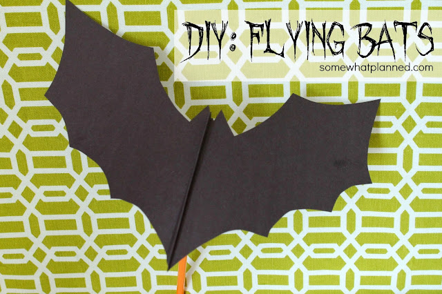 diy flying bat printable pattern included somewhat planned