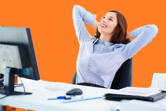 Person working in the workplace - 5 fundamental things will keep the diseases away
