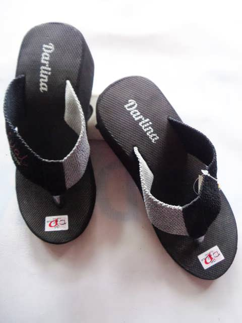 Sandal Wedges Lisban Simplek - pabrik Sandal Jepit Murah