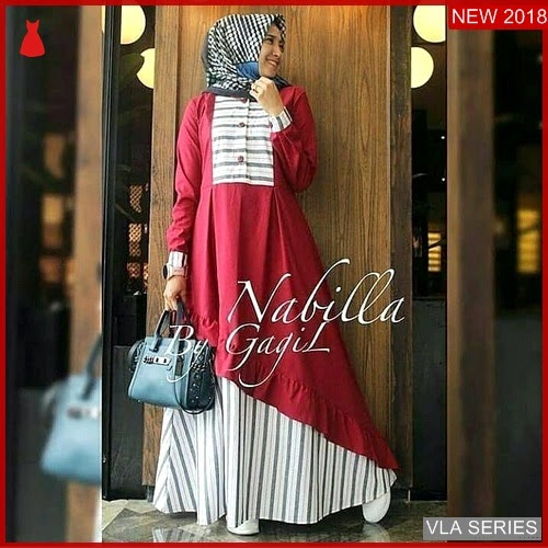 VLA075N102 Model Nabila New Dress Murah BMGShop