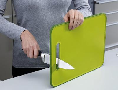 Slice and Sharpen Cutting Board