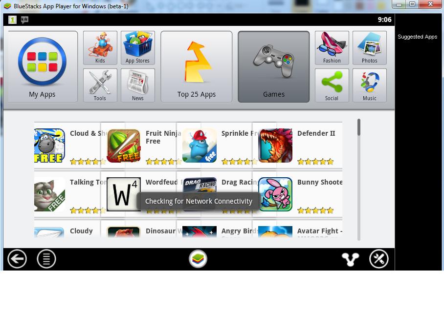 Using Bluestacks Android Phone Emulator on PC