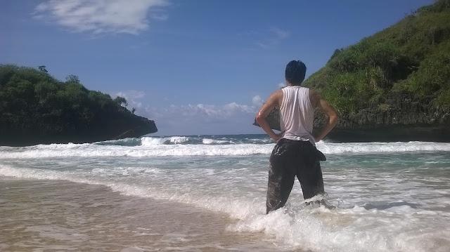 Pantai terbaik untuk kemping Pantai sedahan greweng mbloogers