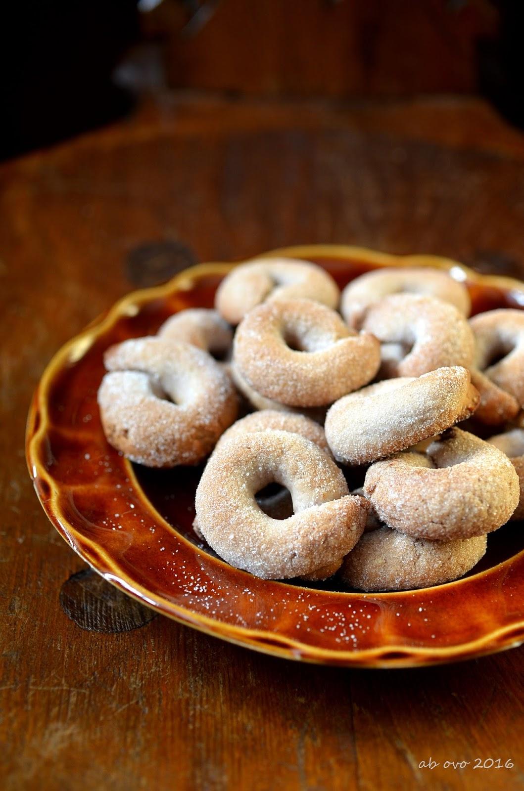Ab ovo blog di ricette italiane e dal mondo taralli for Ricette italiane dolci