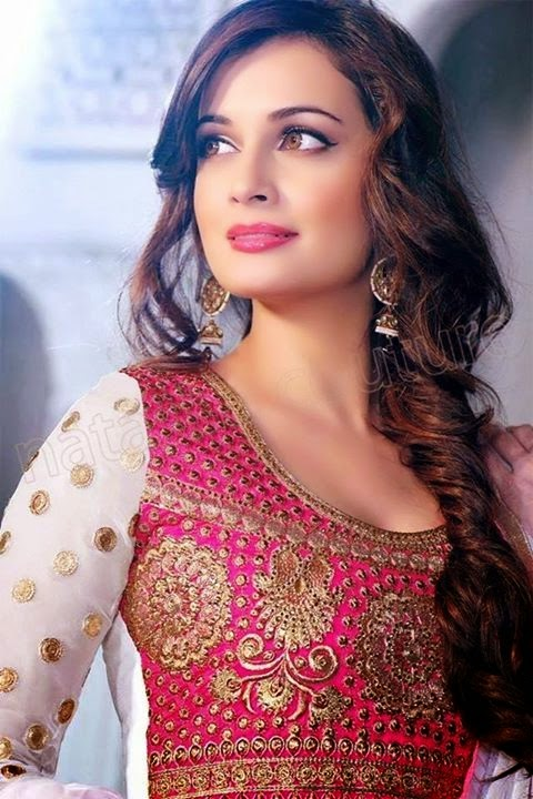 Pinterest Womens Bollywood Celebrity Dia Mirza Fashion 2
