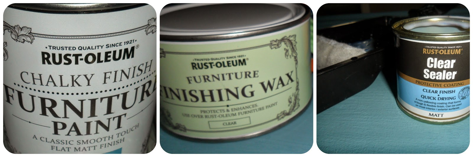rustoleum chalk paint furniture wax sealer
