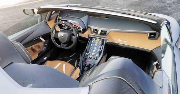 2017 Lamborghini Centenario Roadster Interior