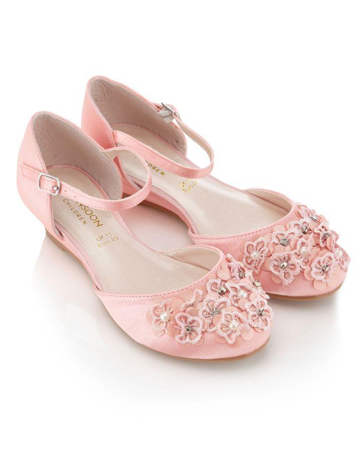 Monsoon Girls Bridesmaid Shoes