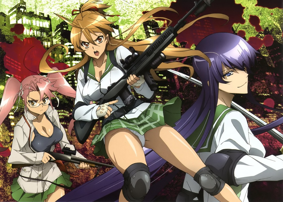 High School Of The Dead - Wallpapers