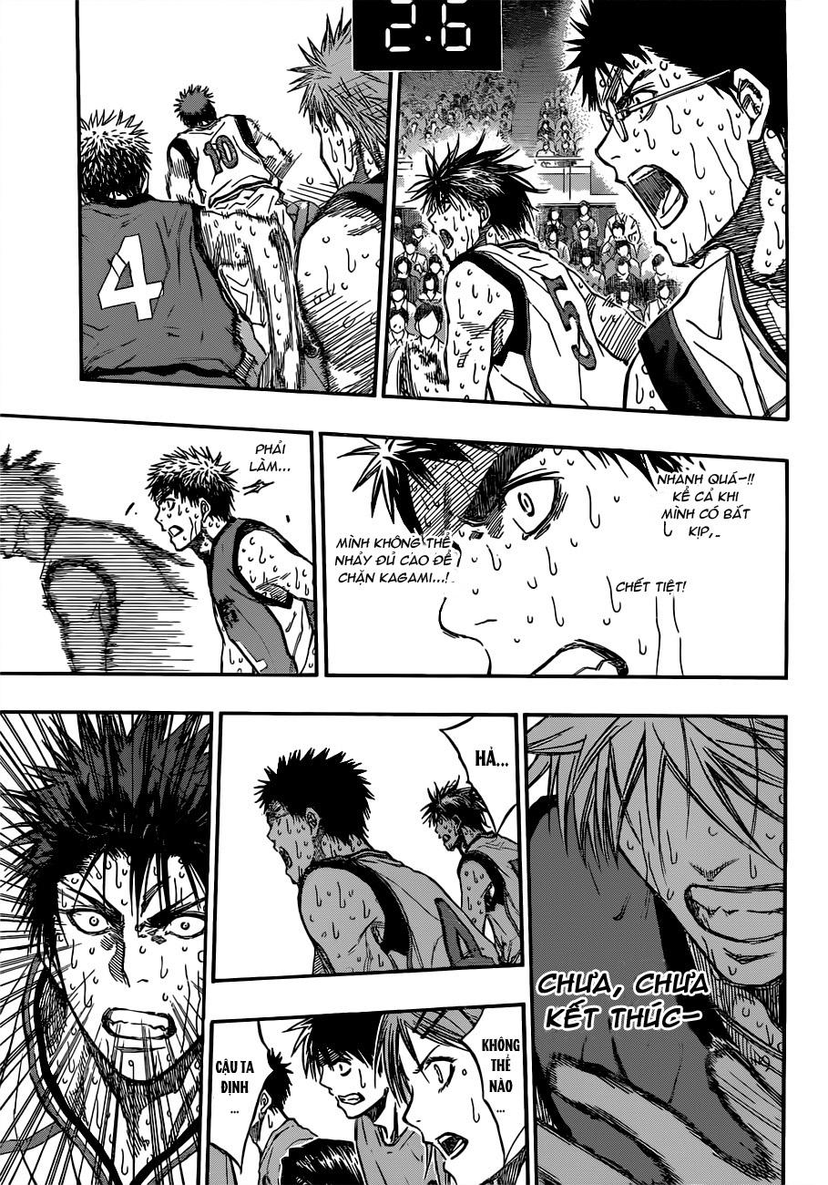 Kuroko No Basket chap 202 trang 9