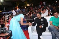 Pujita Ponnada in transparent sky blue dress at Darshakudu pre release ~  Exclusive Celebrities Galleries 055.JPG