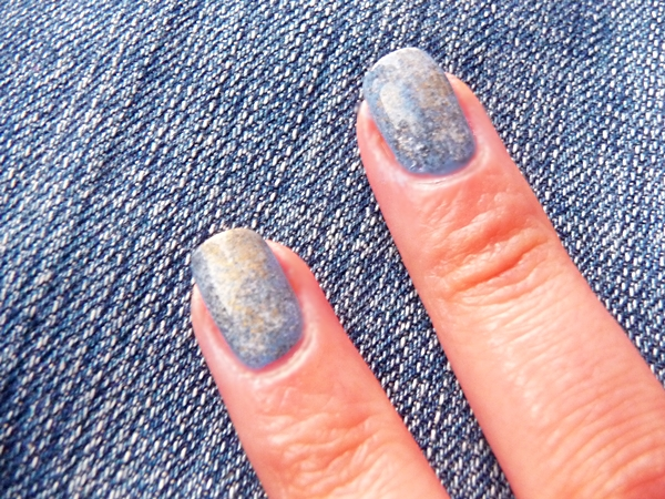 MIYO, miyo denim, miyo mini drops mix, Avon nail experts liquid freeze quick dry, Golden Rose Paris Nail Lacquer, Golden Rose Top Coat for Crystal Color, NYC, manicure, jeans, denim nails