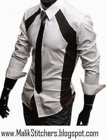 4d08a619 Cloth Combination Style   Boys Shirt Designs   Men Shirt Desgin   Dressing  in Black and White Color   Men Shirt Designs in White and Black Color   Pent  ...