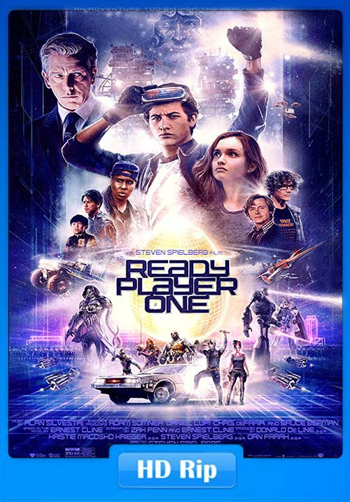 Ready Player One 2018 720p HDRip | 480p 300MB | 100MB HEVC Poster