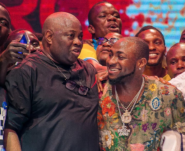 Photos:Davido and Dele Momodu finally make peace