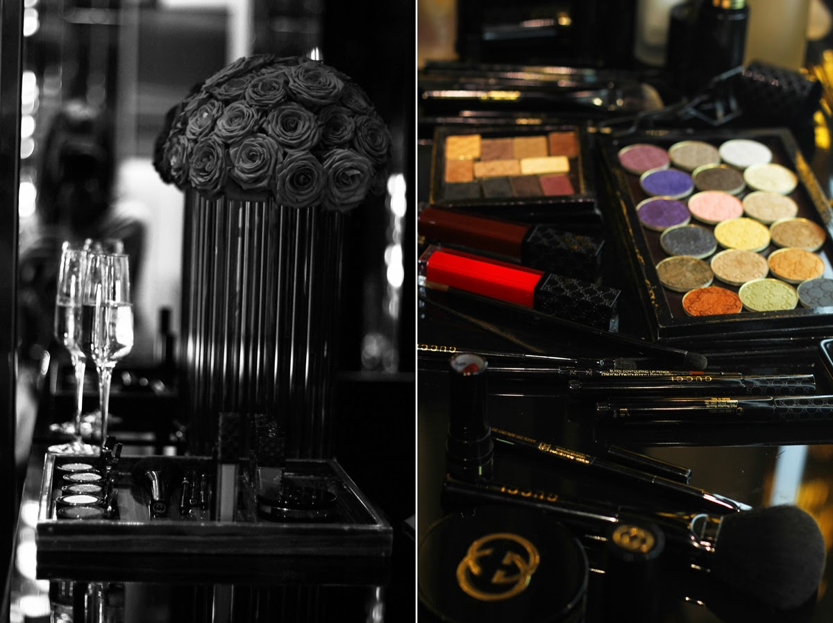 impressions of the gucci beauty line