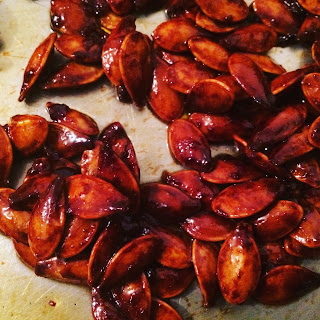 Spicy pumpkin seed recipe