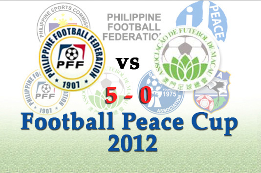 Philippine Azkals win over Macau with a score of 5 - 0