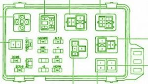 fuse box toyota camry diagram