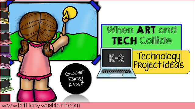 When I first became a technology teacher, I could not wrap my head around designing lessons for Kindergarteners that involved home row typing.  With the liberty from my principal, I was able to develop a curriculum that integrated a lot of art concepts.