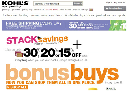 kohls.com pay bill