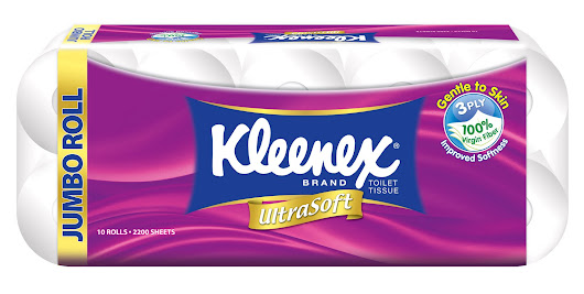 [Review] 大家都爱的 Kleenex Ultrasoft Bath Tissue!