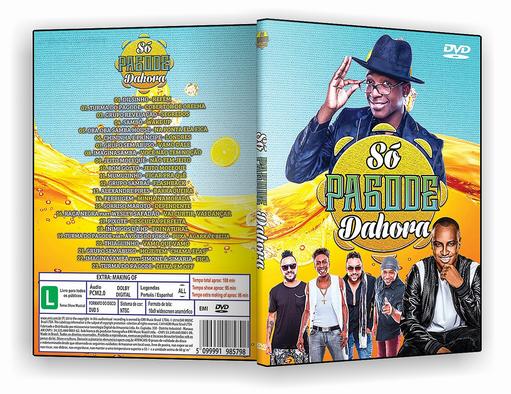 DVD – Só Pagode da Hora Vol.1 – ISO