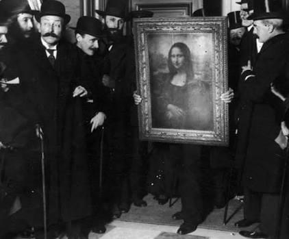 سرقة لوحة الموناليزا