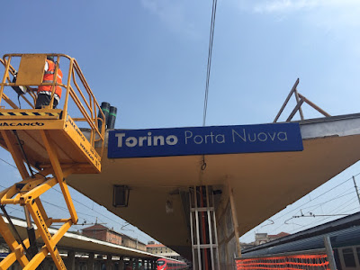 Stazione di Torino Porta Nuova rifacimento guaine di impermeabilizzazione