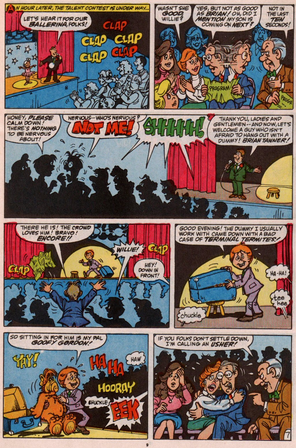 Read online ALF comic -  Issue #5 - 9