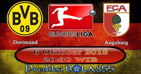 Prediksi Bola855 Dortmund vs Augsburg 6 Oktober 2018