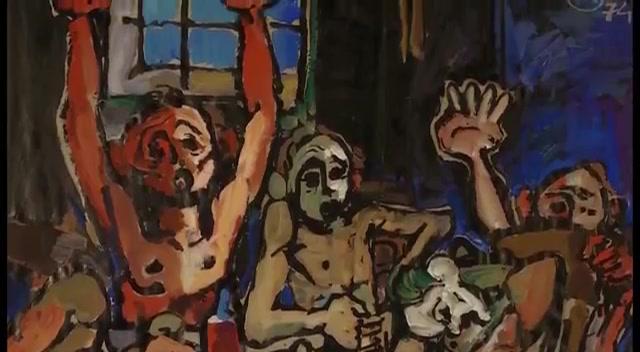 Alush Shima 1942 Colorist Fauvist Symbolist Painter Tutt