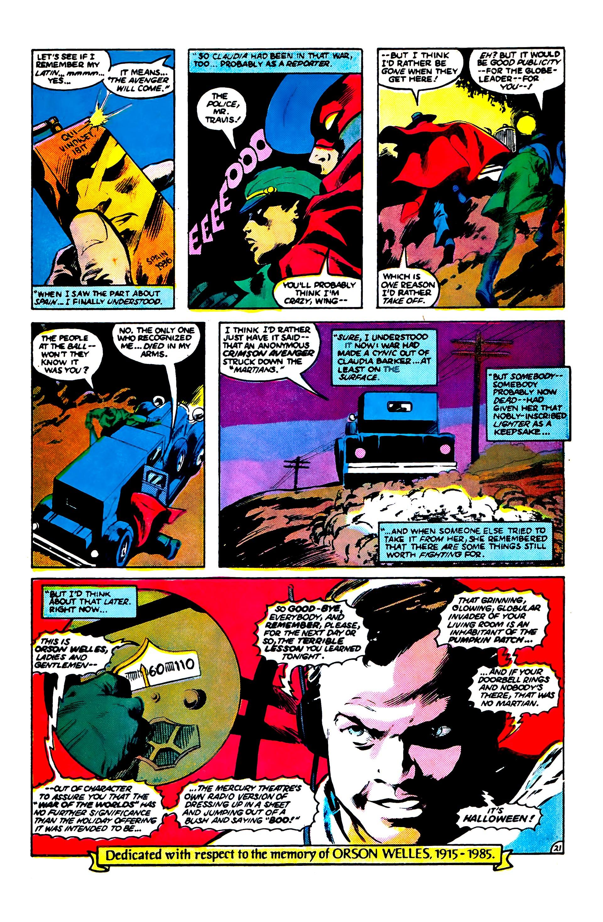 Read online Secret Origins (1986) comic -  Issue #5 - 31