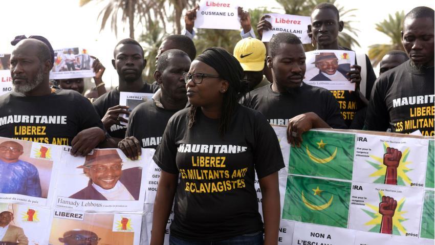 Mauritania Anti-Slavery Activists