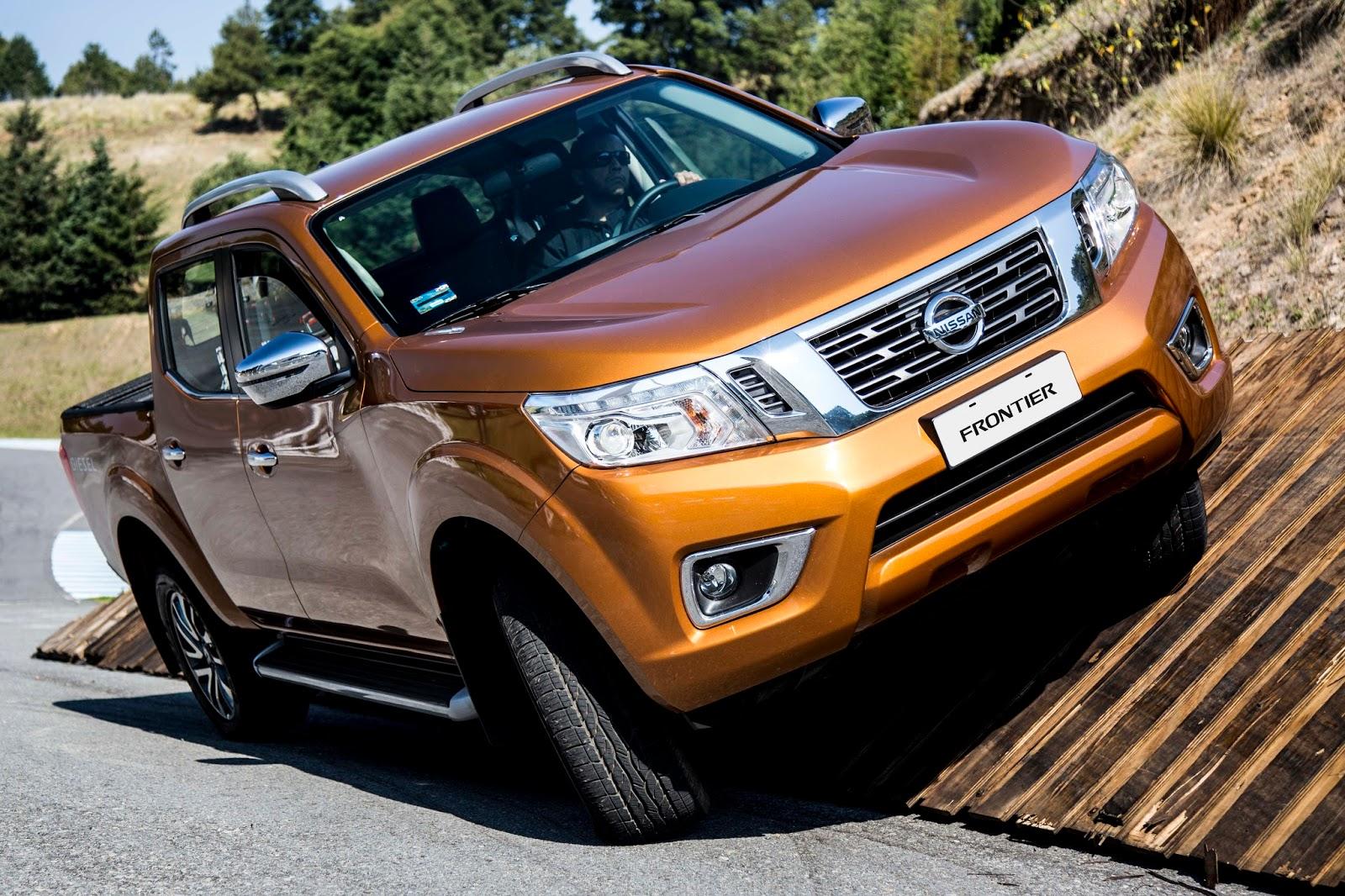 Nissan Frontier chega renovada, elevando nível de força e conforto entre picapes