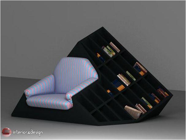 70 Best Bookshelf Designs 33