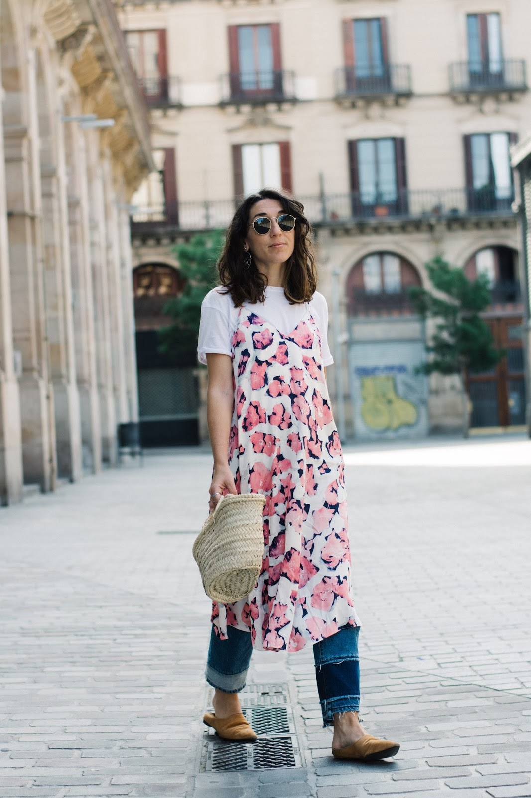 vestido & other stories jeans babuchas h&m slip on shoes