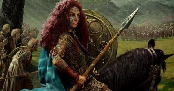 In Your Face Women Boudicca