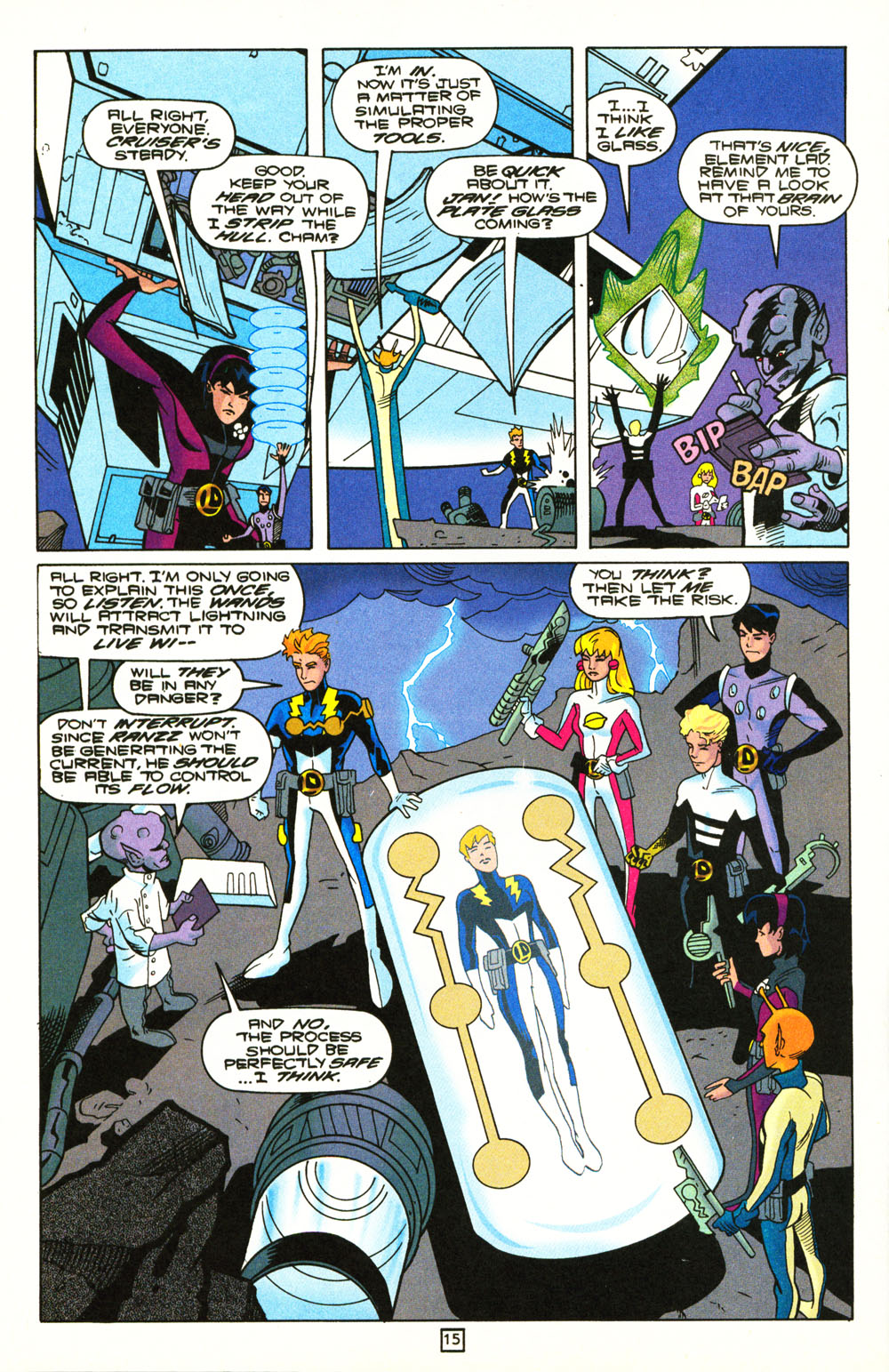 Legion of Super-Heroes (1989) 101 Page 15