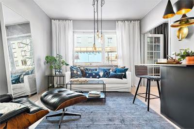 Proiect practic de amenajare pentru un apartament de 38 m²