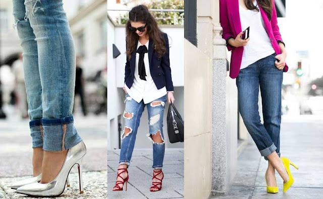 Zapatos tipo los stilettos