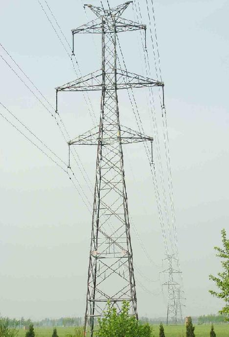 Steel Transmission Line Tower