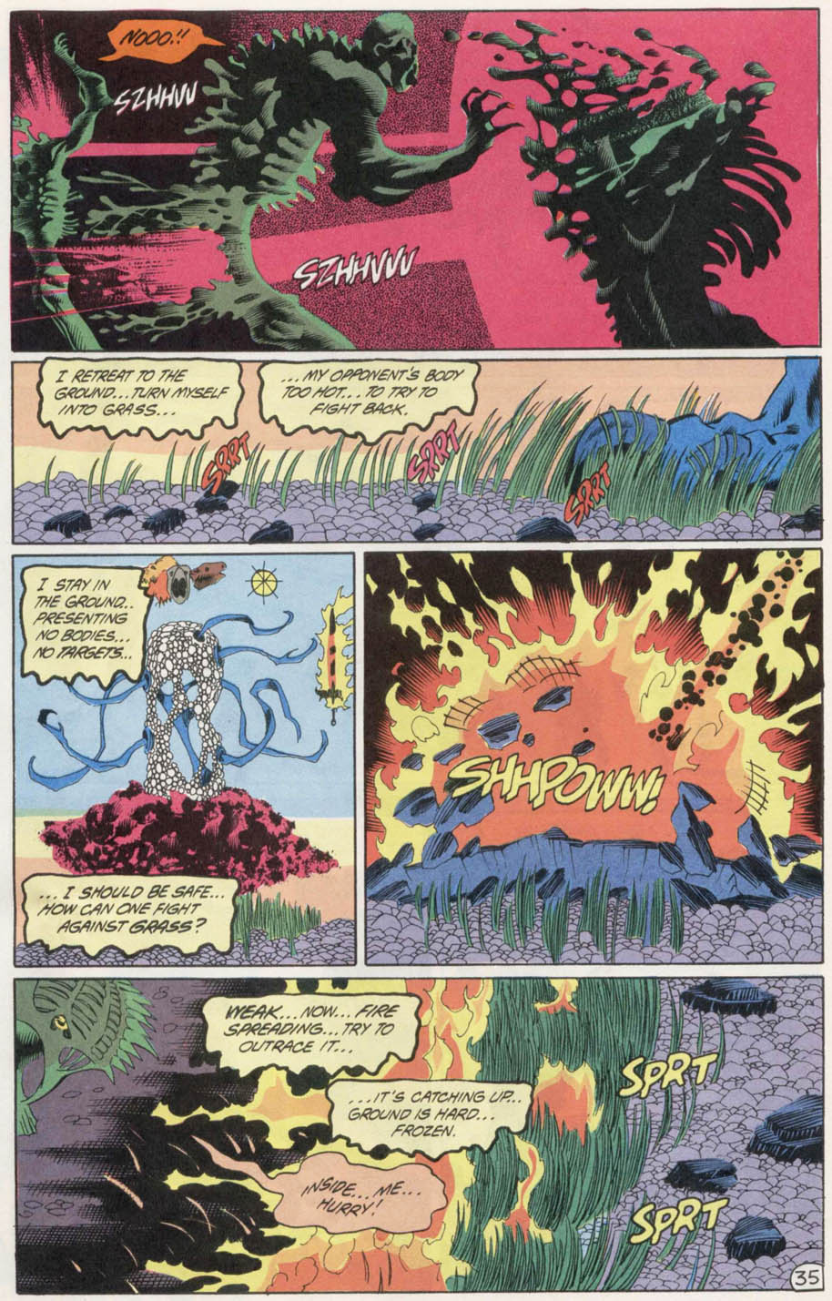 Swamp Thing (1982) Issue #100 #108 - English 34