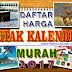 Harga Cetak  Kalender 2017 Jakarta Timur