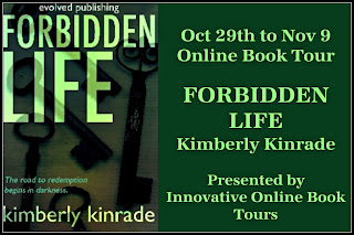 Blog Tour: Forbidden Life by Kimberly Kinrade *Review, Interview & Giveaway*
