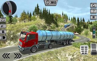 Game Tanker Minyak Pengangkuta Truk App