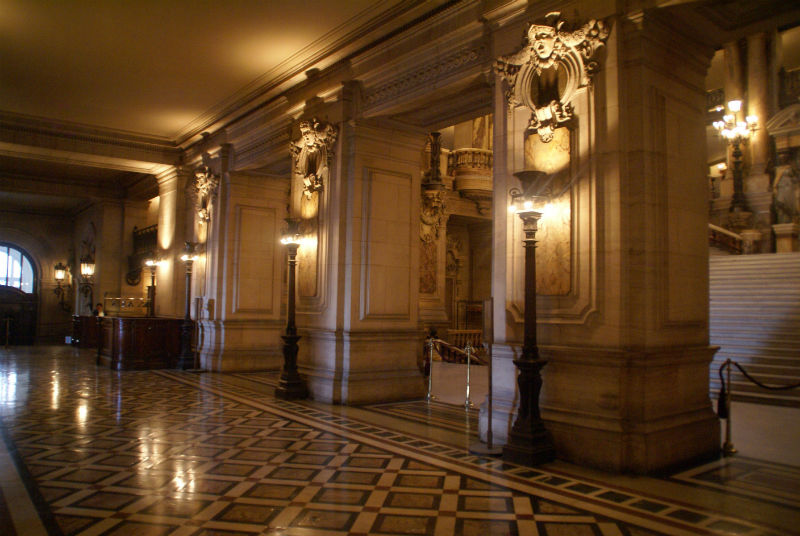 Vestíbulo de Control de la Ópera Garnier